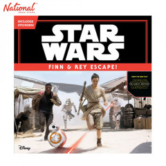 STAR WARS THE FORCE AWAKENS FINN REY ESCAPE INCLUDES STICKERS