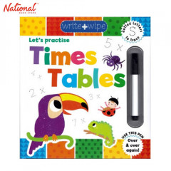 WRITE & WIPE CLEAN: TIMES TABLES