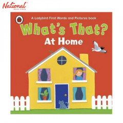 BOOK FEST SPECIAL: WHATS THAT AT HOME A LADYBIRD FIRST