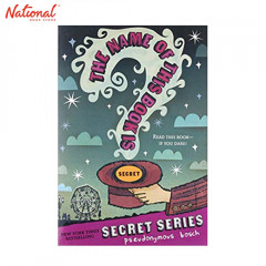 BBB SECRET SERIES1:NAME OF THIS BOOK IS SECRET