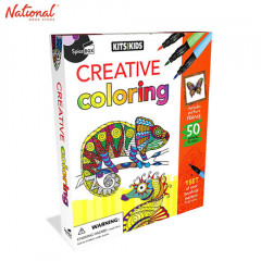 SPICEBOX KITS FOR KIDS 8714 CREATIVE COLORING