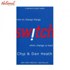 BBB SWITCH: HOW TO CHANGE THINGS WHEN CHANGE IS HARD TP