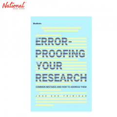 ERROR-PROOFING YOUR RESEARCH TP: COMMON