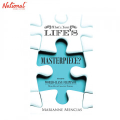 WHATS YOUR LIFES MASTERPIECE TP