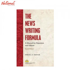THE NEWS WRITING FORMULA: A MANUAL F TP